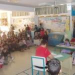 Εκδήλωση στο χώρο υποδοχής του Σχολείου-Όμορφες στιγμές παιδικά χαμόγελα και δημιουργικότητα!!!