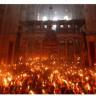 Η τελετή αφής του Αγίου Φωτός στα Ιεροσόλυμα.